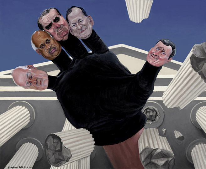 Freedom From Precedent Brilliant Political Art from Stephen Pitt