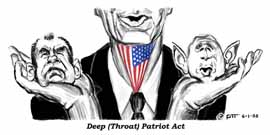 Deep Throat Patriot Act